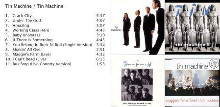 Tin Machine Recopilacion