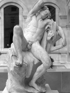 escultura louvre