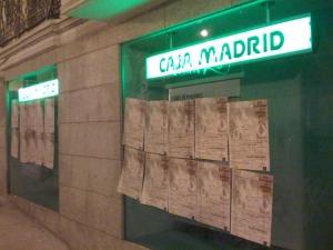 El Ministerio de Igualdad empapela Caja Madrid