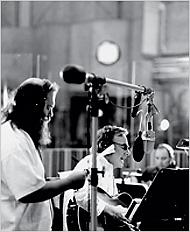 Rick Rubin y Neil Diamond