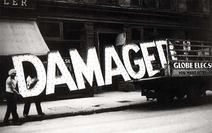 Damaged (Walter Evans)