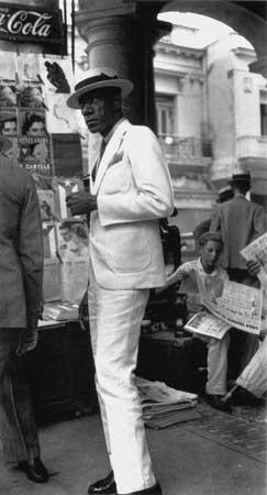 Ciudadano en La Habana (1933), de Walker Evans
