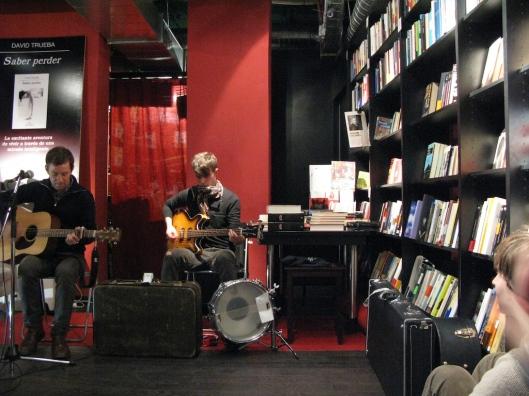 Pelle Carlberg en la libreria La Buena Vida