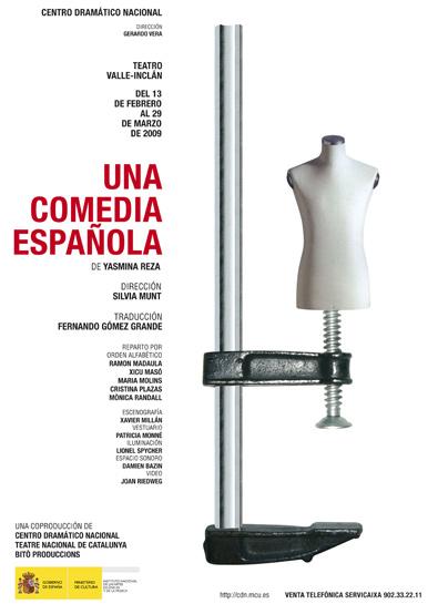 Una comedia española, de Yasmina Reza