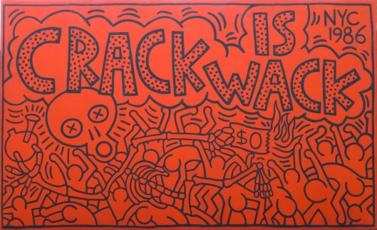 "Mural ""Crack is Wack"", de Keith Haring"