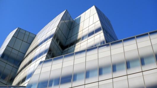 Detalle del edificio AIC, de Frank Gehry.