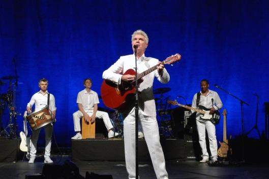 David Byrne en el Teatro Lope de Vega (Madrid, 27 de abril de 2009)