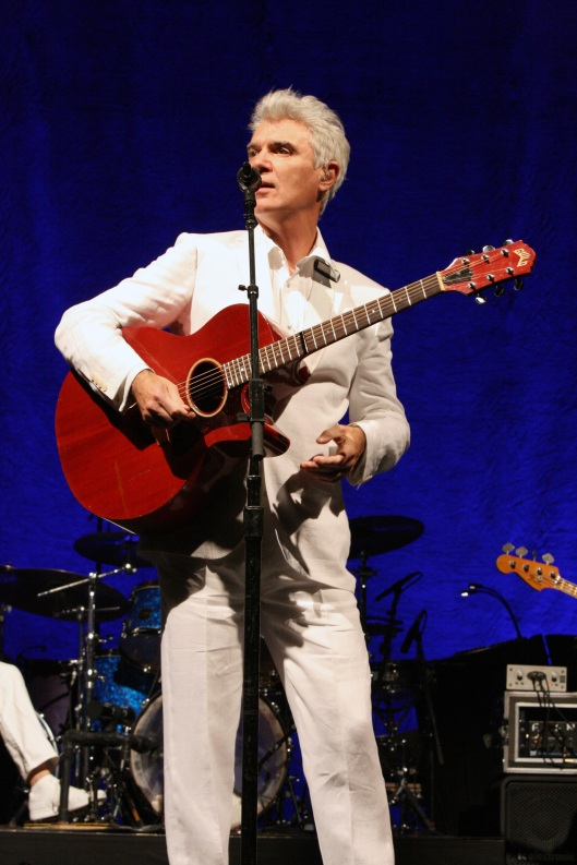 David Byrne en Madrid