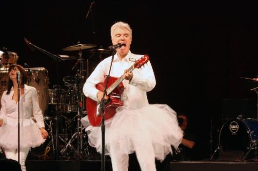 Concierto de David Byrne en el Teatro Lope de Vega (Madrid)
