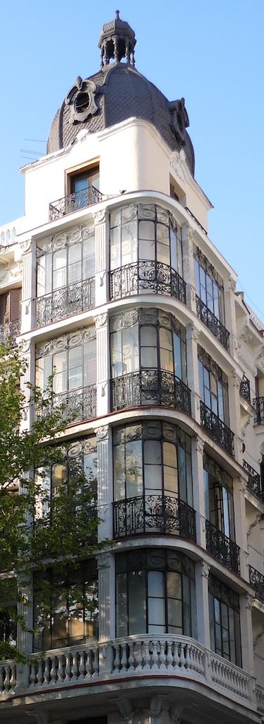 Edificio en la calle Atocha