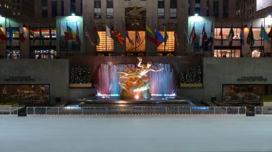 Pista de hielo del Rockefeller Center