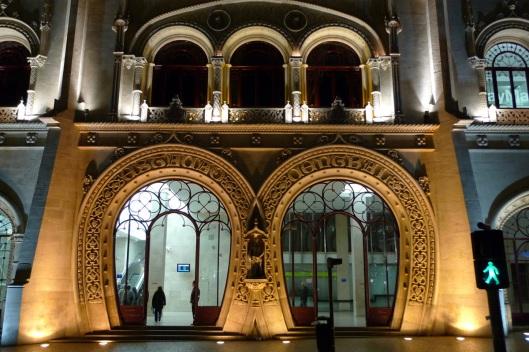 Estación de Rossio (fachada)