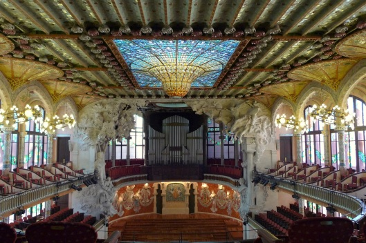 Sala de conciertos del Palau de la Música