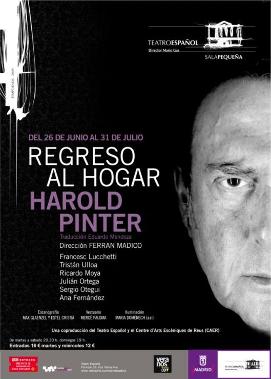 Regreso al Hogar, de Pinter, en el Español.