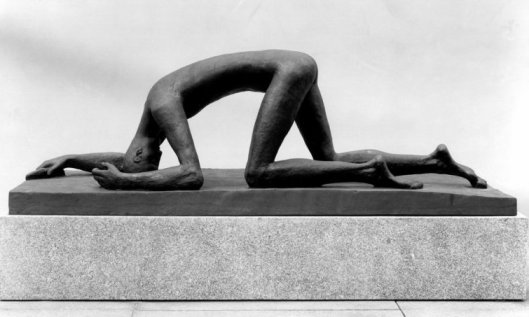 El caído, de Wilhelm Lehmbruck