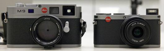 Las nuevas Leica M9 y Leica X1
