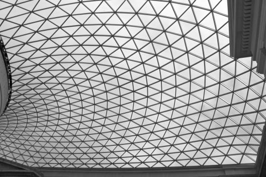 British Museum (detalle de la cubierta de Foster)