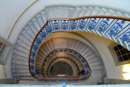 Escaleras de la Courtauld Gallery