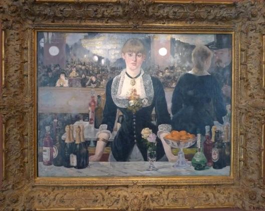 Bar en el Folies-Bergère (Edouard Manet)