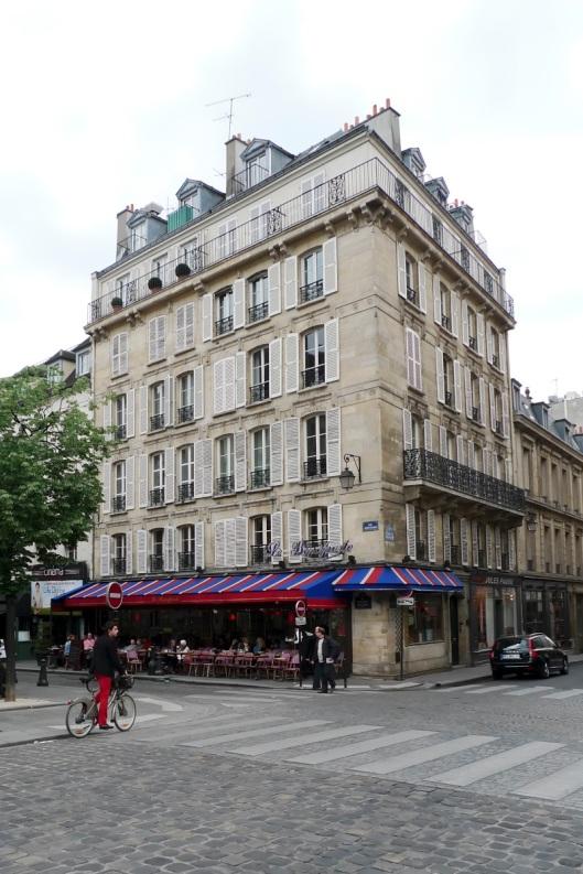 Edificio junto a St. Germain-des-Prés