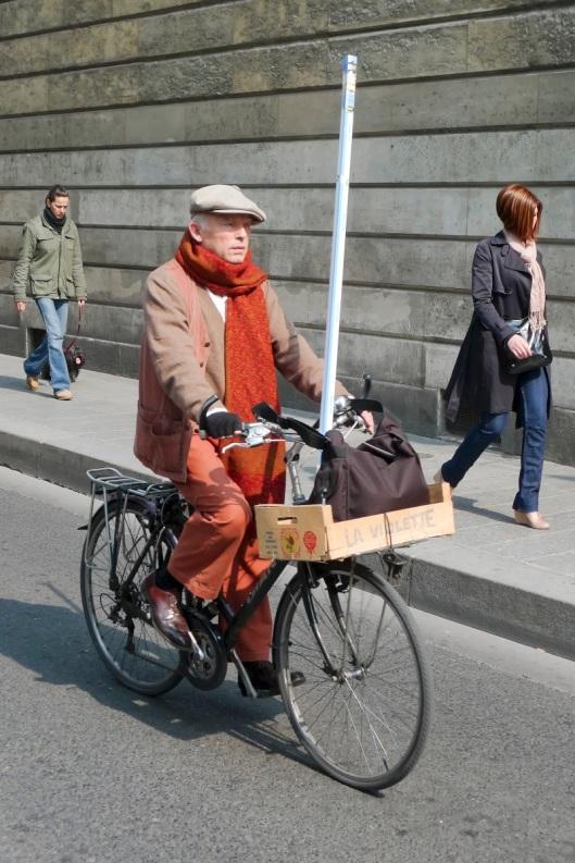 Parisino en bici
