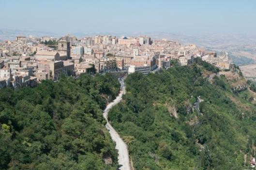 Vista de Enna
