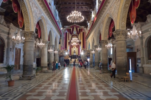 Catedral de Enna. Interior
