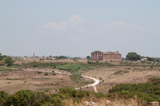 Vista de Selinunte