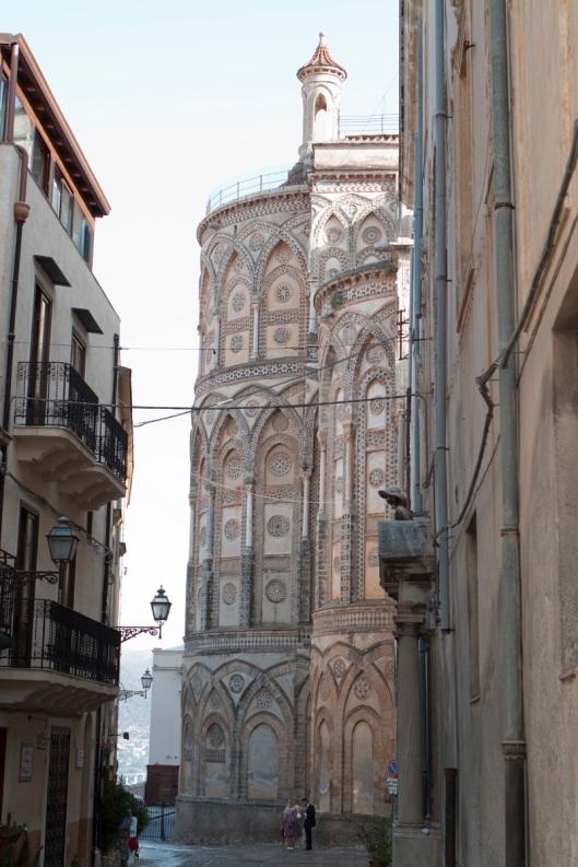 Ábside de la catedral de Monreal