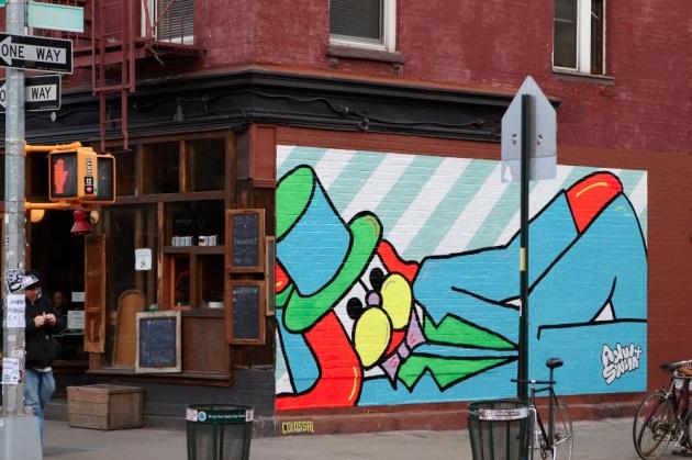 Grafitti en Williamsburg
