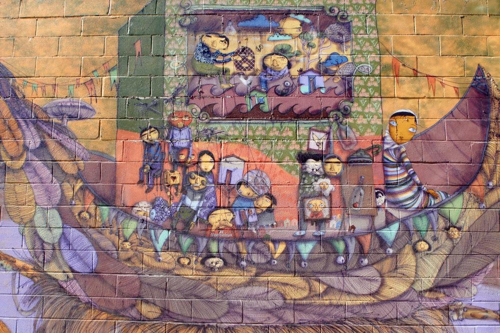 Nueva york 2011 blog de adolfo for Coney island mural