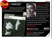 Bowie 30 canciones