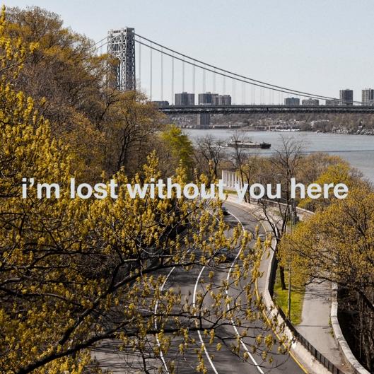 """Haz clic en la portada para descargar """"I'm Lost Without You Here""""."""