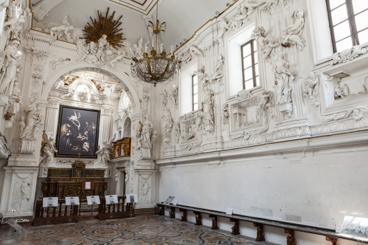 Vista general del Oratorio de San Lorenzo.