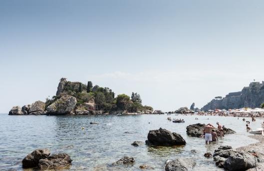 Isola Bella, en Taormina.