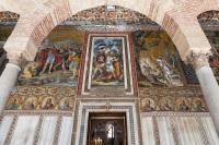 Entrada a la capilla Palatina.