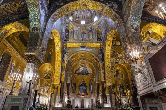 La capilla Palatina es, como podéis ver, una de las visitas obligadas en Palermo.