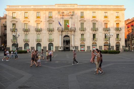 Palazzo Centrale (Universidad), en la piazza Università.