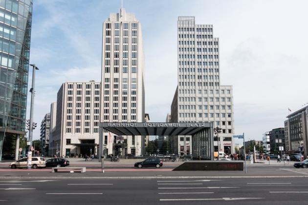 Vista de Potsdamer Platz.