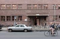 Fachada del antiguo colegio.