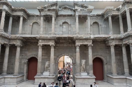 Puerta del mercado de Mileto.