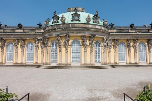 Palacio Sanssouci.