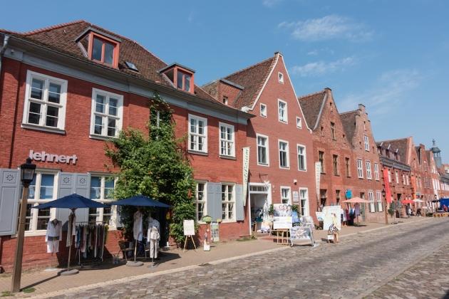 El barrio holandés es la parte más bonita e interesante de Potsdam.